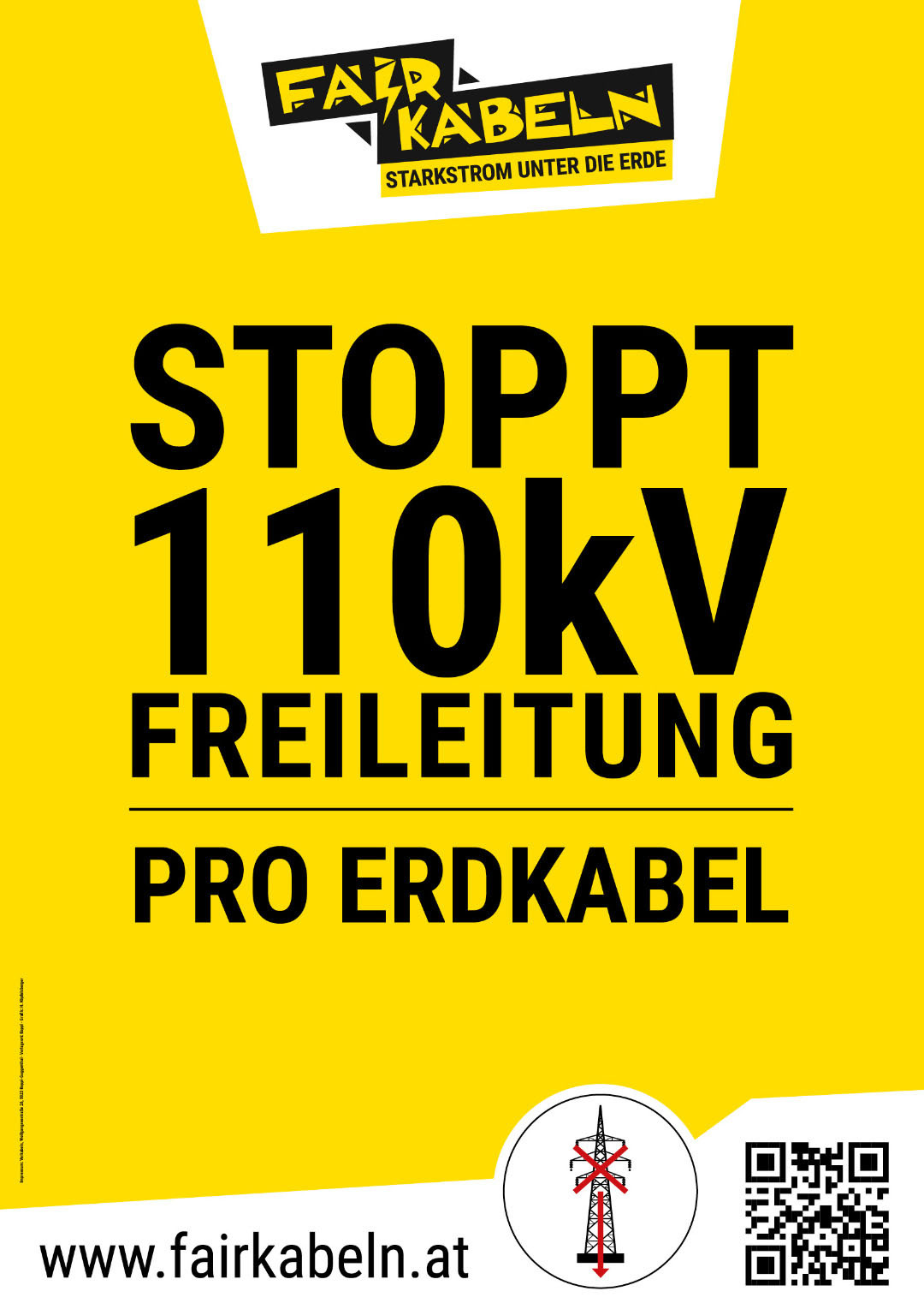 Stoppt 110kV Freileitung