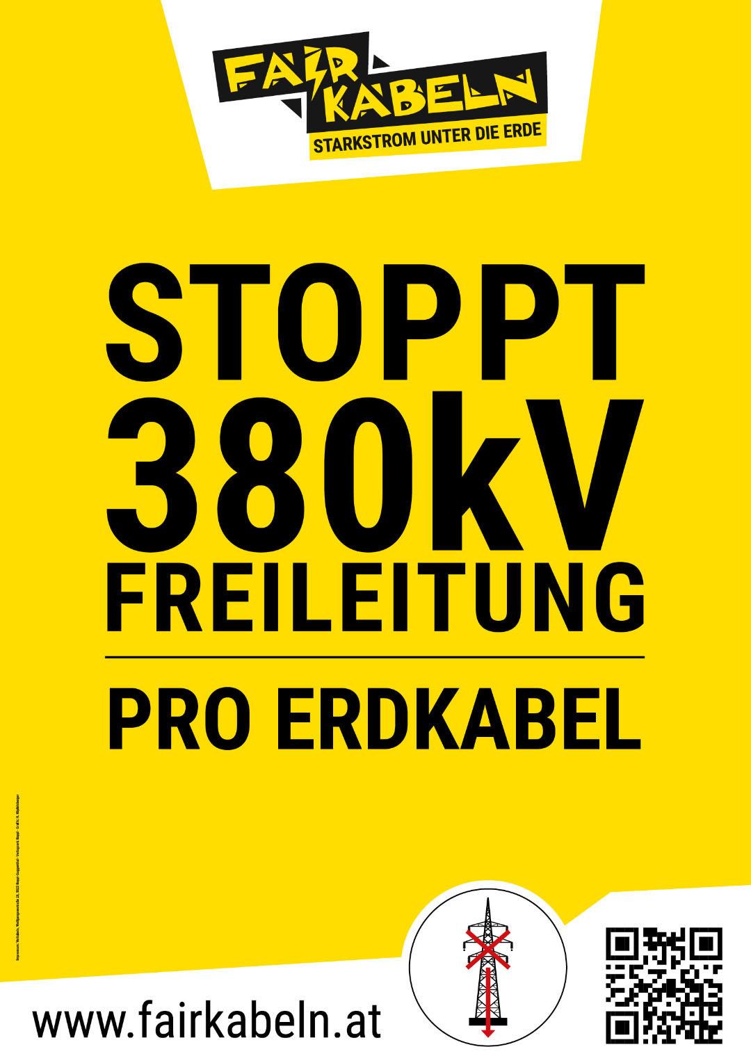 Stoppt 380kV Freileitung